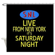 Live From New York SNL Shower Curtain