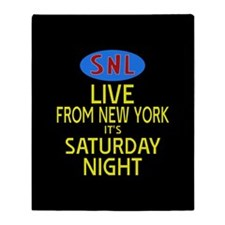 Live From New York SNL Throw Blanket