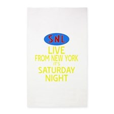 Live From New York SNL 3'x5' Area Rug