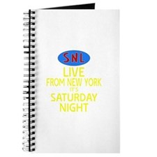 Live From New York SNL Journal