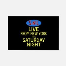 Live From New York SNL Rectangle Magnet