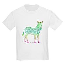Colorful Zebra T-Shirt