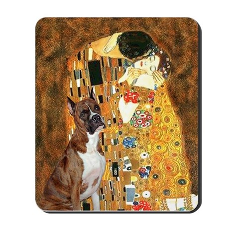 The Kiss & Boxer Mousepad