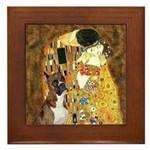 The Kiss & Boxer Framed Tile