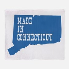 Made In Connecticut Throw Blanket