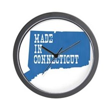 Made In Connecticut Wall Clock