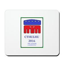 VoteCthulhu Mousepad