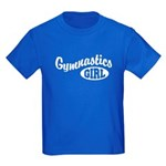 Gymnastics Girl Kids Dark T-Shirt