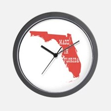 Made In Florida Wall Clock