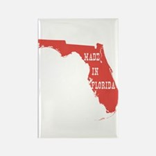 Made In Florida Rectangle Magnet
