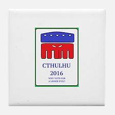 VoteCthulhu Tile Coaster
