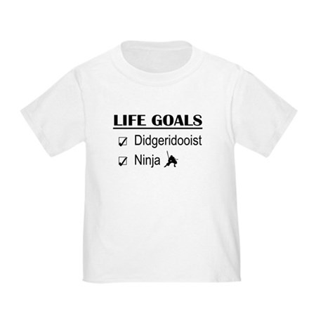 Didgeridooist Ninja Life Goals Toddler T-Shirt