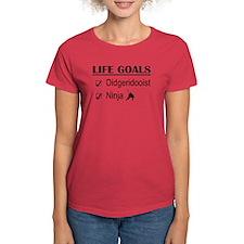 Didgeridooist Ninja Life Goal Tee
