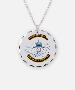 Great White says..Come On In Necklace