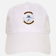 Great White says..Come On In Baseball Baseball Cap