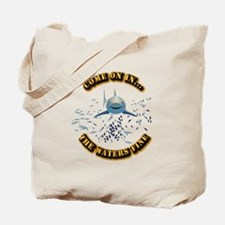 Great White says..Come On In Tote Bag