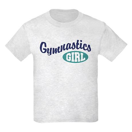 Gymnastics Girl Kids Light T-Shirt