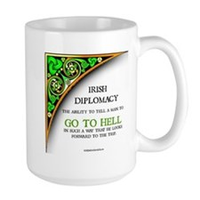 Irish diplomacy Mugs