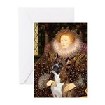 The Queen & her Boxer Greeting Cards (Pk of 10)