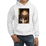 The Queen & her Boxer Hooded Sweatshirt