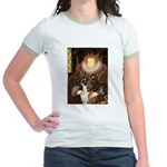 The Queen & her Boxer Jr. Ringer T-Shirt