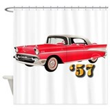 1957 chevy Shower Curtains