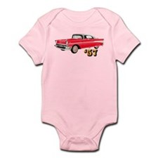 57 Red Chevy Infant Bodysuit