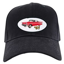 57 Red Chevy Baseball Hat