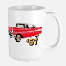 57 Red Chevy Mug