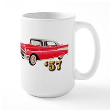 57 Red Chevy Mug