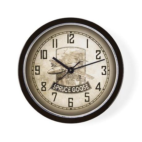 H-4 Hercules Spruce Goose Flying Boat Wall Clock