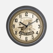 H-4 Hercules Spruce Goose Flying Boat Wall Clock