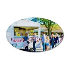 Soft Pretzel Food Truck Wall Decal