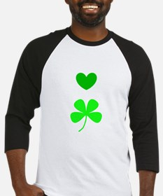 Hearts for Clovers Lover 312 Baseball Jersey