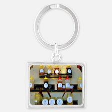 Swarmbustin Honey 1 Landscape Keychain