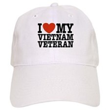 I Love My Vietnam Veteran Baseball Cap