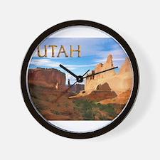 Utah smaller Wall Clock