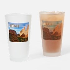 Utah smaller Drinking Glass
