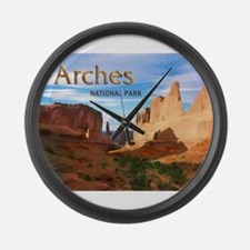 Arches Smaller Large Wall Clock