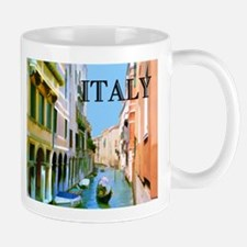 Gondolier in Canal in Venice ITALY Mugs
