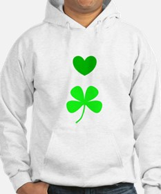 Hearts for Clovers Lover 312 Hoodie