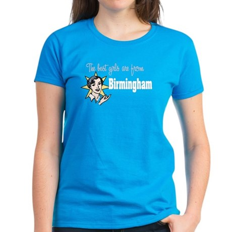 Best Girls Birmingham Women's Dark T-Shirt