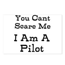 You Cant Scare Me I Am A Pilot Postcards (Package