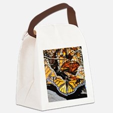 Monarch Butterfly 2 Square Canvas Lunch Bag