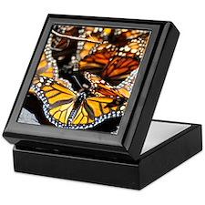 Monarch Butterfly 2 Square Keepsake Box