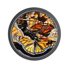 Monarch Butterfly 2 Square Wall Clock