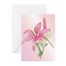 Lily Visitor Greeting Cards (Pk of 20)