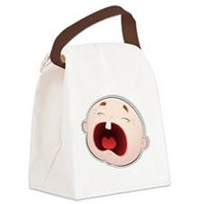 Baby Face 2 Canvas Lunch Bag