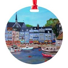 Honfleur, France Ornament