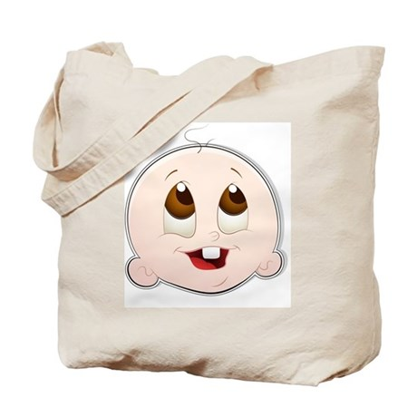 Baby Face 4 Tote Bag